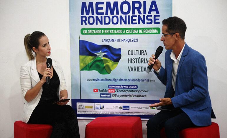 REVISTA DIGITAL SOBRE A CULTURA DE RONDÔNIA FOI  É LANÇADA ATRAVÉS DE LIVE
