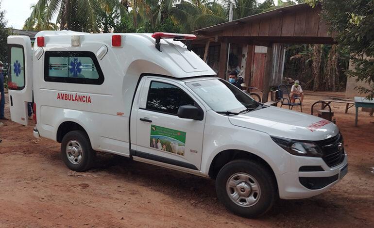 Emenda do deputado Luizinho Goebel garante aquisição de uma ambulância para o Distrito do Corgão, em Chupinguaia