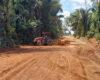 Semosp de Pimenteiras recupera estrada do 5º Eixo zona rural do Município