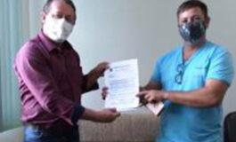 SINTESV-RO/IMUNIZAÇÃO: Vigilantes do município Cerejeiras recebem primeira dose do imunização contra a COVID-9
