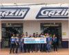 Gazin filial 83 de Cerejeiras homenageia profissionais da saúde com salva de palmas