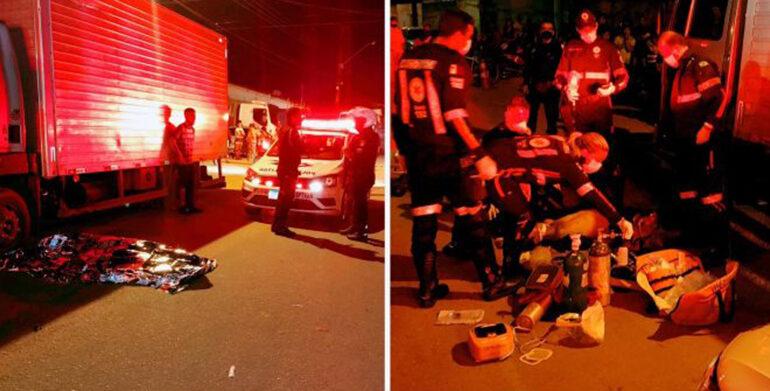 URGENTE: Ciclista morre após ser atropelado por motoboy