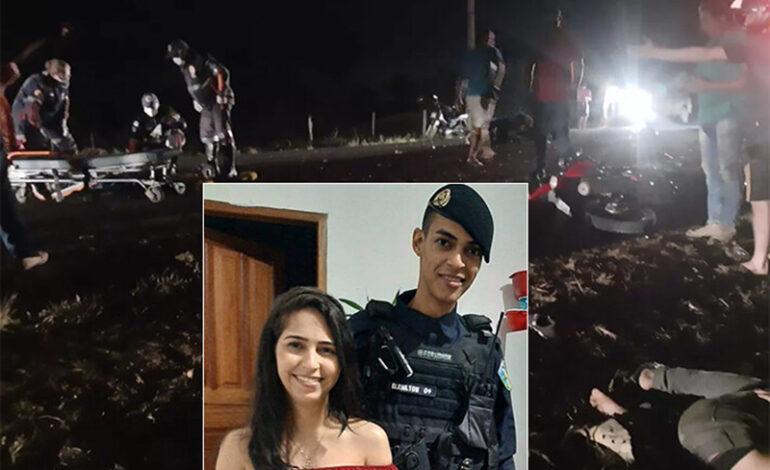 Colisão entre motos deixa quatro mortos na RO-133; vítimas são PM, professora e dois menores