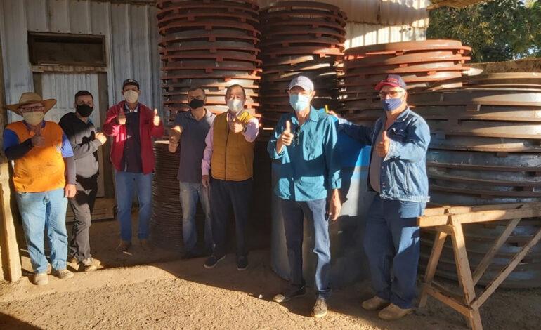 Vilhena adquire fábrica de manilhas e bloquetes através de emenda parlamentar do deputado Luizinho Goebel