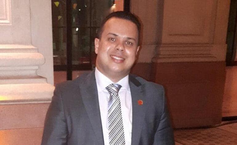 Deputado Luizinho Goebel emite nota de pesar pelo falecimento do Dr. Roger Nascimento dos Santos, Procurador Geral do IPERON