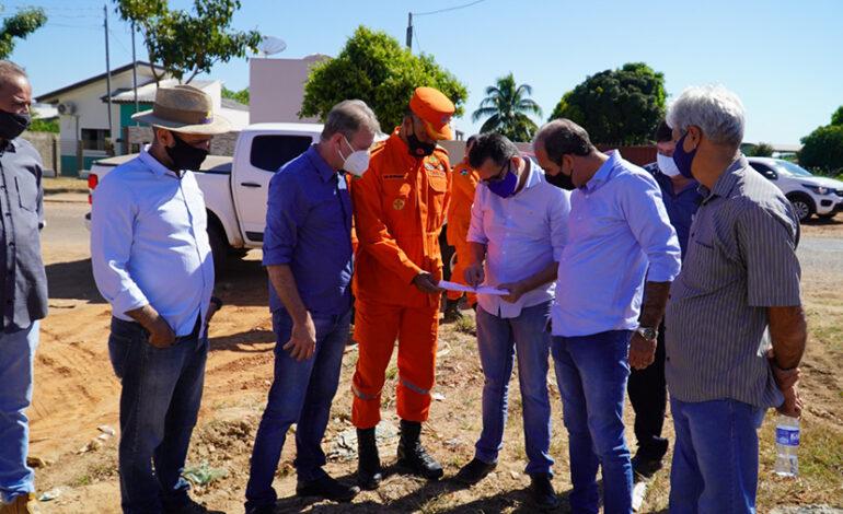 Colorado do Oeste terá quartel do Corpo de Bombeiros com apoio do deputado Luizinho Goebel e do governador Marcos Rocha