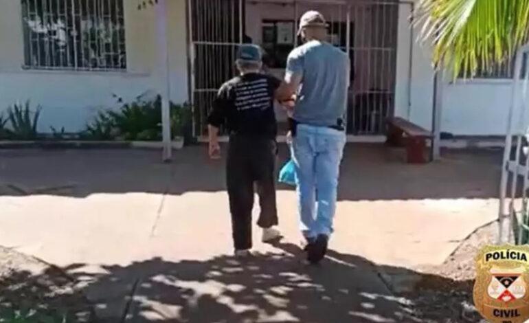 Deam prende idoso de 85 anos condenado a 14 anos de prisão acusado de estuprar a neta
