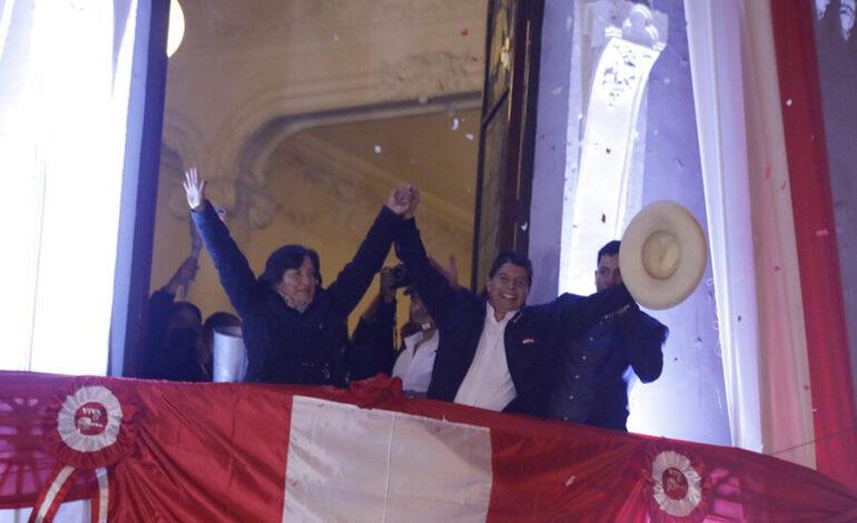 JNE O PROCLAMA VENCEDOR DAS ELEIÇÕES GERAIS DE 2021: Pedro Castillo é declarado presidente eleito do Perú
