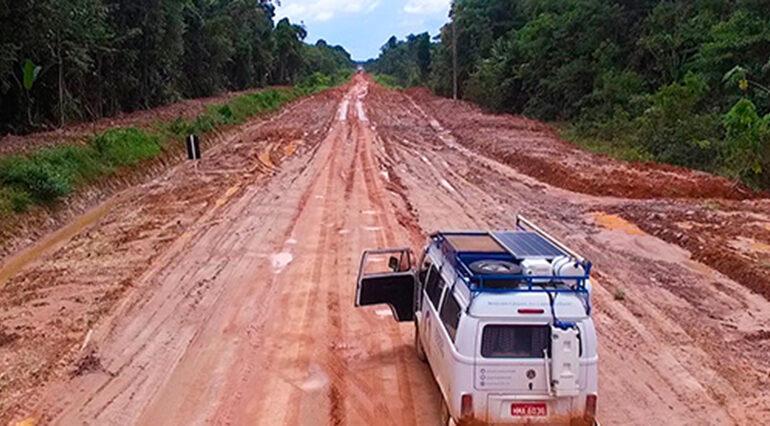 MPF quer que Ibama suspenda audiência sobre a BR-319 durante a pandemia; rodovia liga Rondônia ao Amazonas