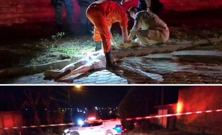 Homem com várias passagens pela Polícia é executado com vários tiros