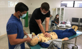 Empresa Medicando da obstetrícia e pronto-socorro do hospital de Vilhena promove treinamento para equipes