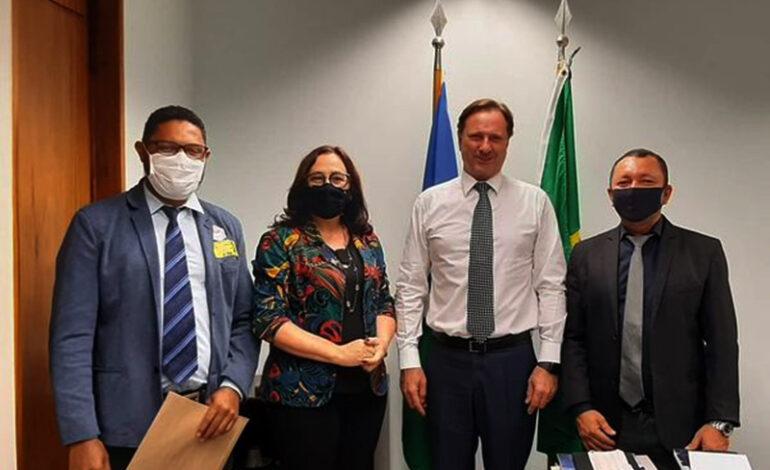 Vereadores e Prefeita de Cerejeiras buscam liberação de recursos de emendas parlamentares em Brasília