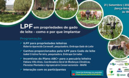 ILPF em propriedades leiteiras é tema de webinar da Embrapa nesta terça (21)