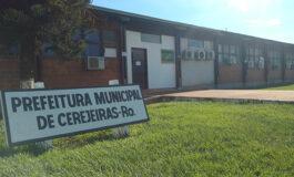 Prefeitura do Município de Cerejeiras, RO, divulga processo seletivo para preencher vaga de estágio de Direito