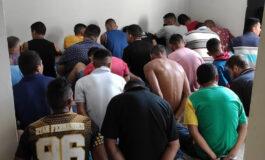 50 pessoas são presas durante operação do 5º Batalhão da PM em Porto Velho